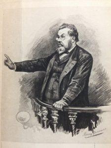 C.H. Spurgeon etching