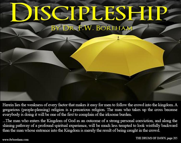 FWB on discipleship