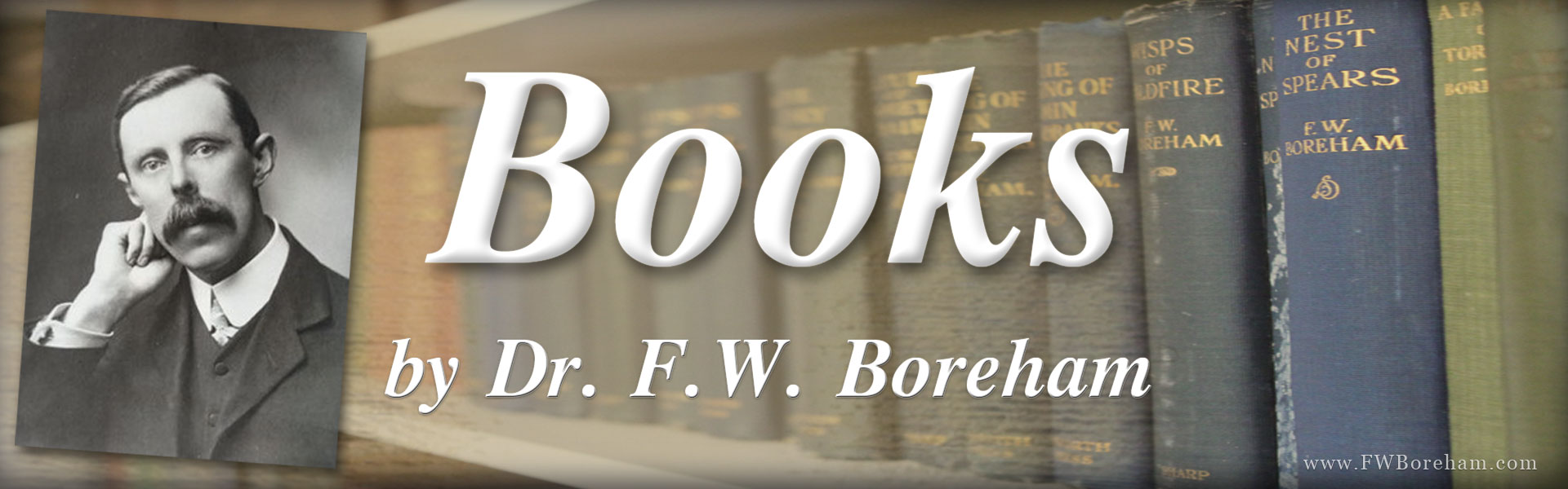 Books by Dr. F.W. Boreham